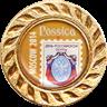 """Международная филателистическая выставка """"Россика-2014"""", серебряная медаль"""