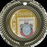 """Международная филателистическая выставка """"Россика-2016"""", большая серебряная медаль"""